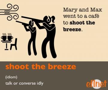 shoot the breeze